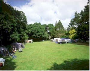 Ruthern Valley Camp Site Cornwall